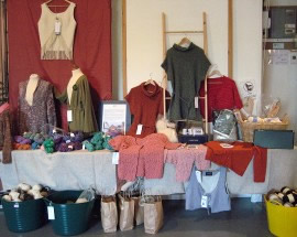 Wool and Willow Shop stall