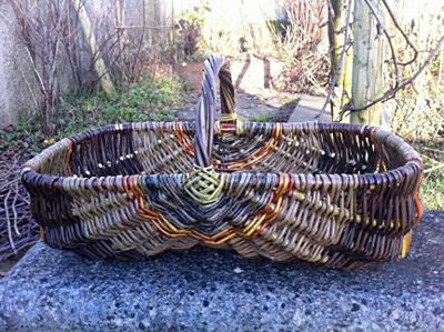 basket made by Mel Bastier