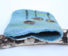 Layered felted Kindle case made by Ruth Packham