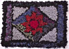 traditional rag rug by Sue Clow