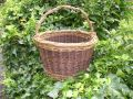 woven willow basket by Beryl Smith
