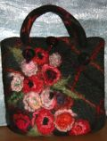 Embellished Felt Handbag by Su Pascoe