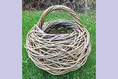 willow basket by Mel Bastier