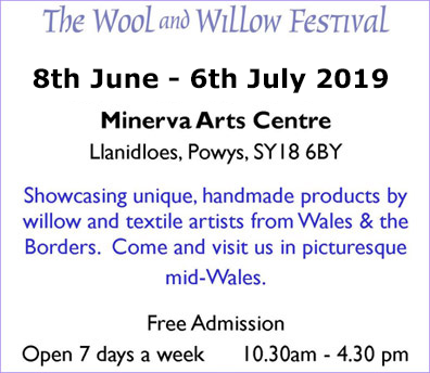 a festival to be held in the Minerva Arts Centre, Llanidloes,in June 2019