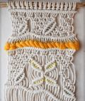macramé woven hanging by Alice Thomas
