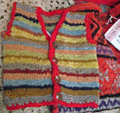 Woolcraft knitted waistcoat